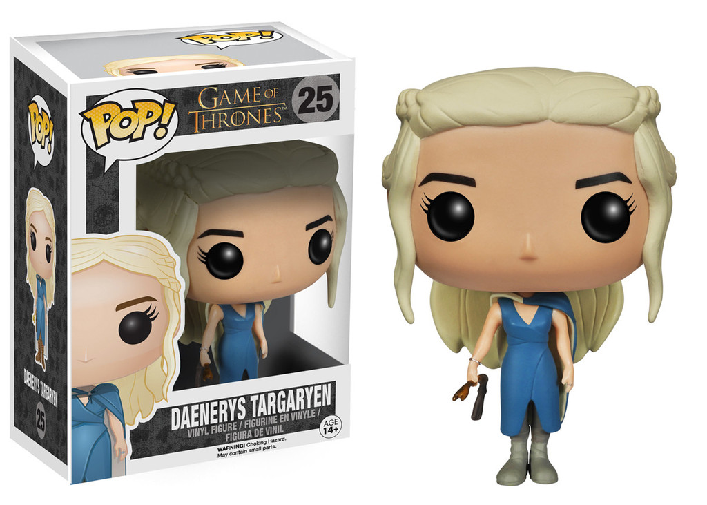 Photo du produit FUNKO POP GAME OF THRONES DAENERYS TARGARYEN BLUE DRESS