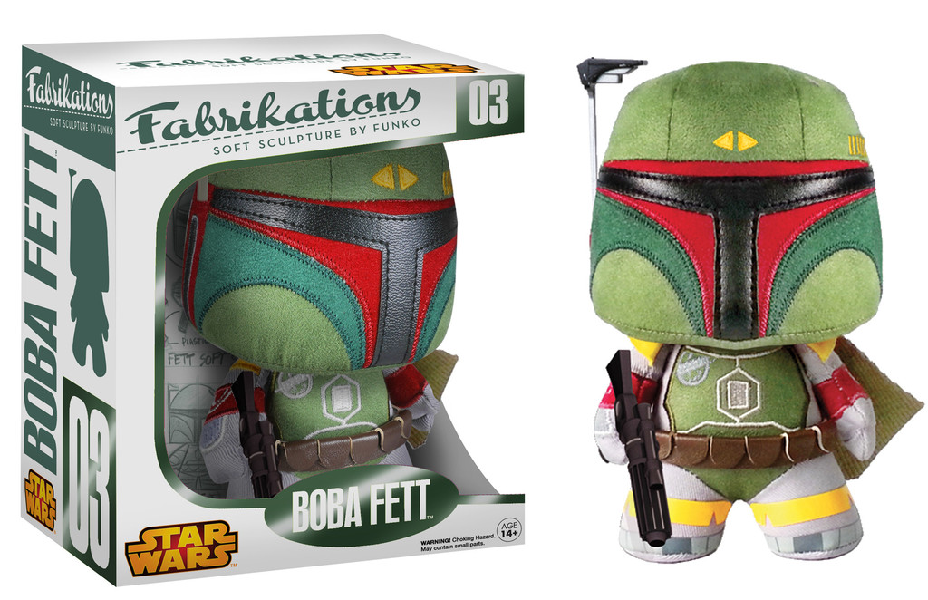 Photo du produit STAR WARS FABRIKATIONS PELUCHE BOBA FETT 15CM