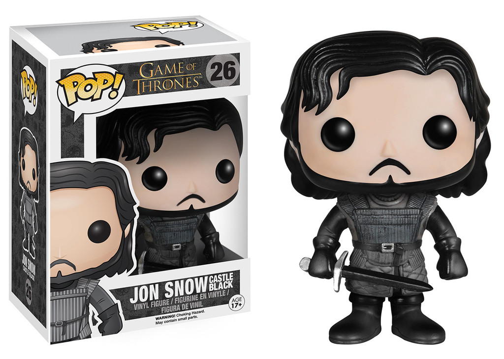 Photo du produit FUNKO POP GAME OF THRONES JON SNOW CASTLE BLACK