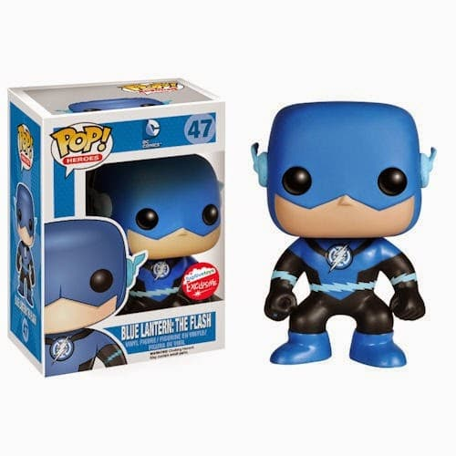 Photo du produit DC HEROES FUNKO POP METALLIC BLUE LANTERN FLASH