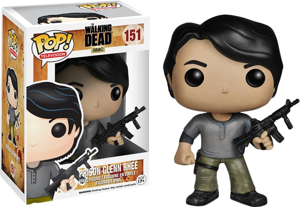 Photo du produit FIGURINE FUNKO POP THE WALKING DEAD  PRISON GLENN