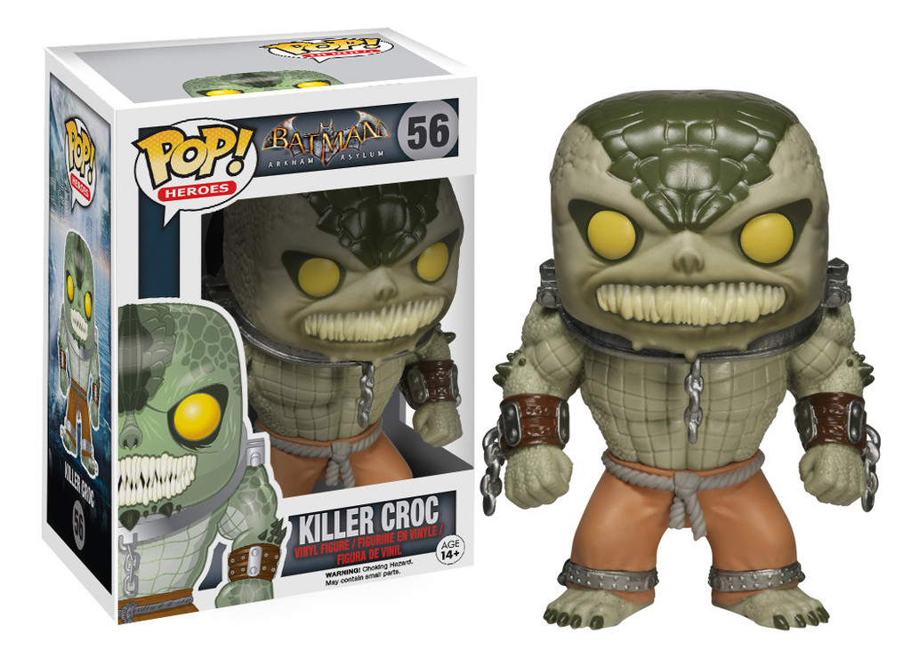 Photo du produit FUNKO POP BATMAN ARKHAM ASYLUM KILLER CROC