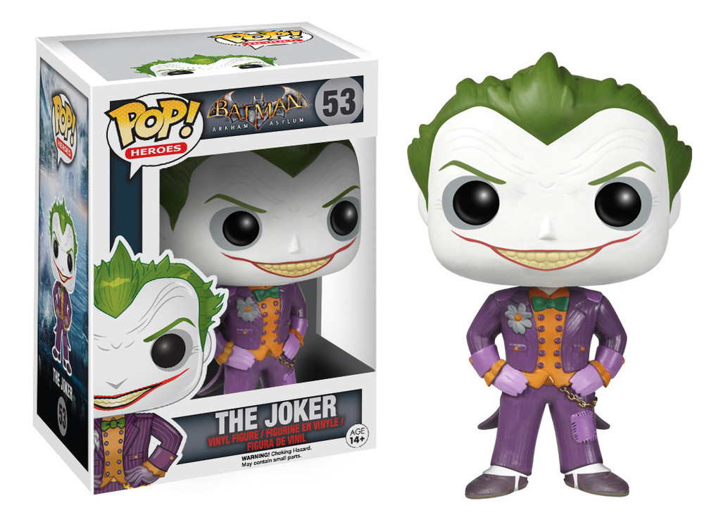 Photo du produit FUNKO POP BATMAN ARKHAM ASYLUM JOKER