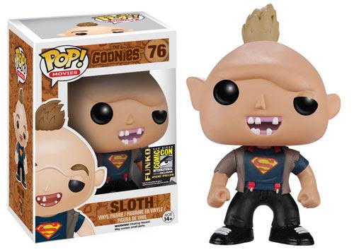 Figurine Sinok Sloth T Shirt Superman Funko Pop Exclusive
