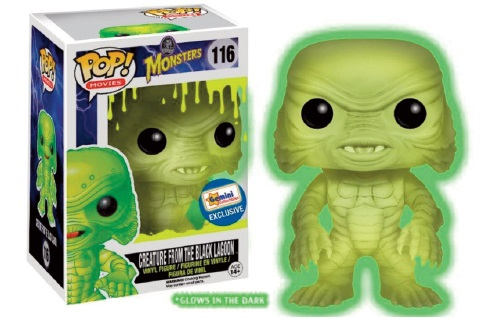 Photo du produit FUNKO POP CLASSIC MONSTERS CREATURE FROM THE BLACK LAGOON GLOW IN THE DARK