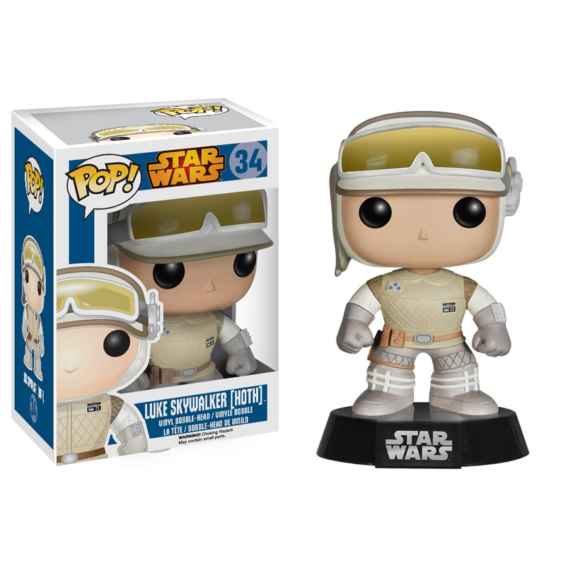 Photo du produit FIGURINE FUNKO POP STAR WARS LUKE SKYWALKER HOTH