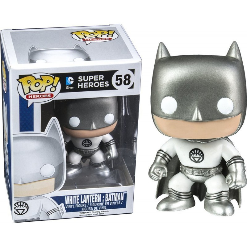 Photo du produit DC POP WHITE LANTERN BATMAN EXCLUSIVE