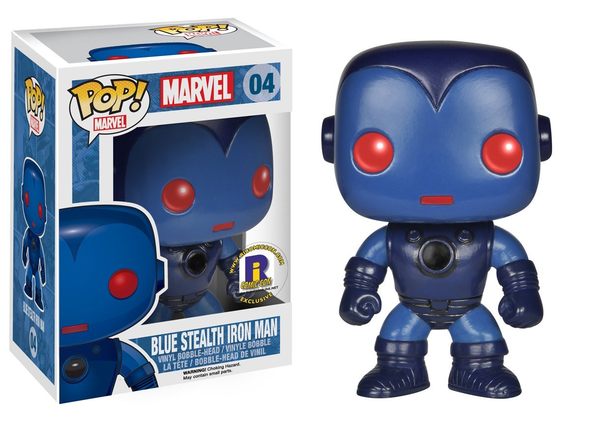 Photo du produit FUNKO POP IRON MAN STEALTH EXCLU RICOMICCON