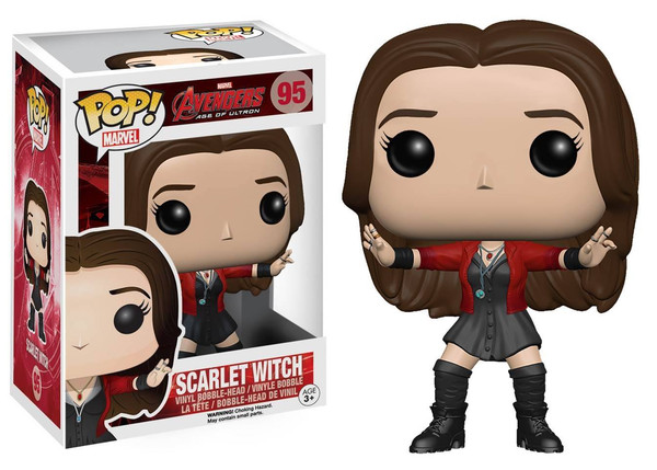 Photo du produit MARVEL POP AVENGERS AGE OF ULTRON SCARLET WITCH