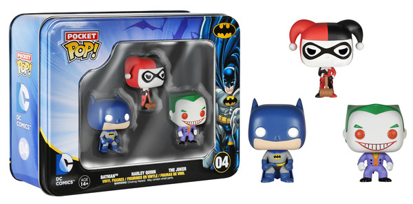 Photo du produit COFFRET DC HEROES POCKET POP
