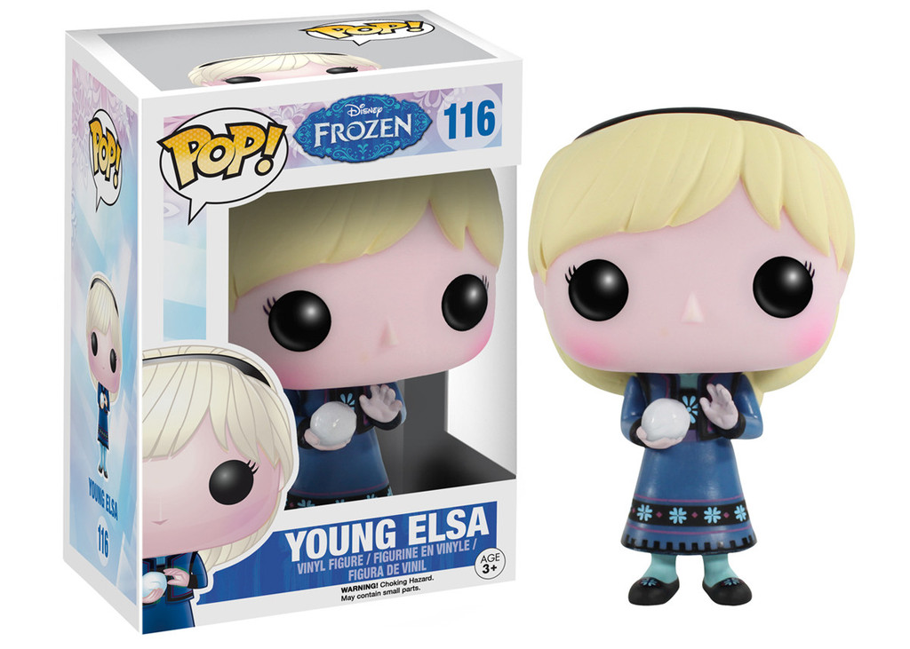 Photo du produit FUNKO POP YOUNG ELSA LA REINE DES NEIGES