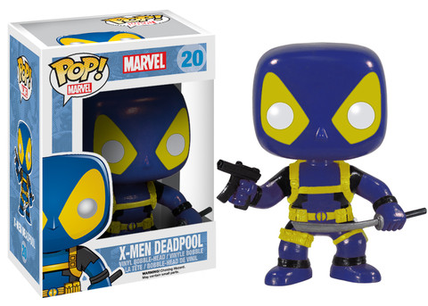 Photo du produit FIGURINE FUNKO POP DEADPOOL X-MEN COLOR