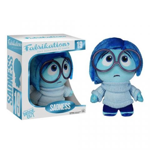Photo du produit Disney Fabrikations Inside Out Vice Versa Sadness Funko
