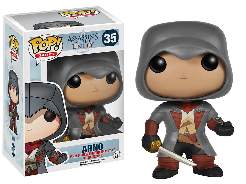 Photo du produit ASSASSINS CREED POP ARNO VINYL 9CM