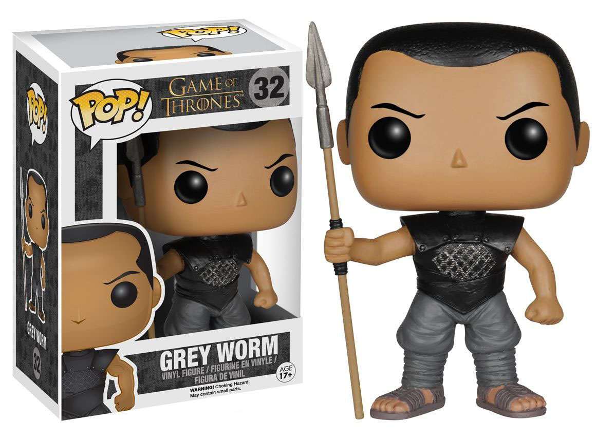Photo du produit GAME OF THRONES POP GREY WORM 9CM