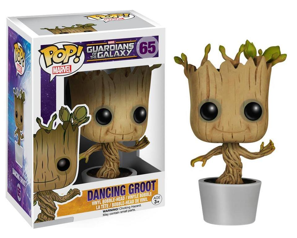 Photo du produit FUNKO POP GUARDIANS OF THE GALAXY BABY GROOT