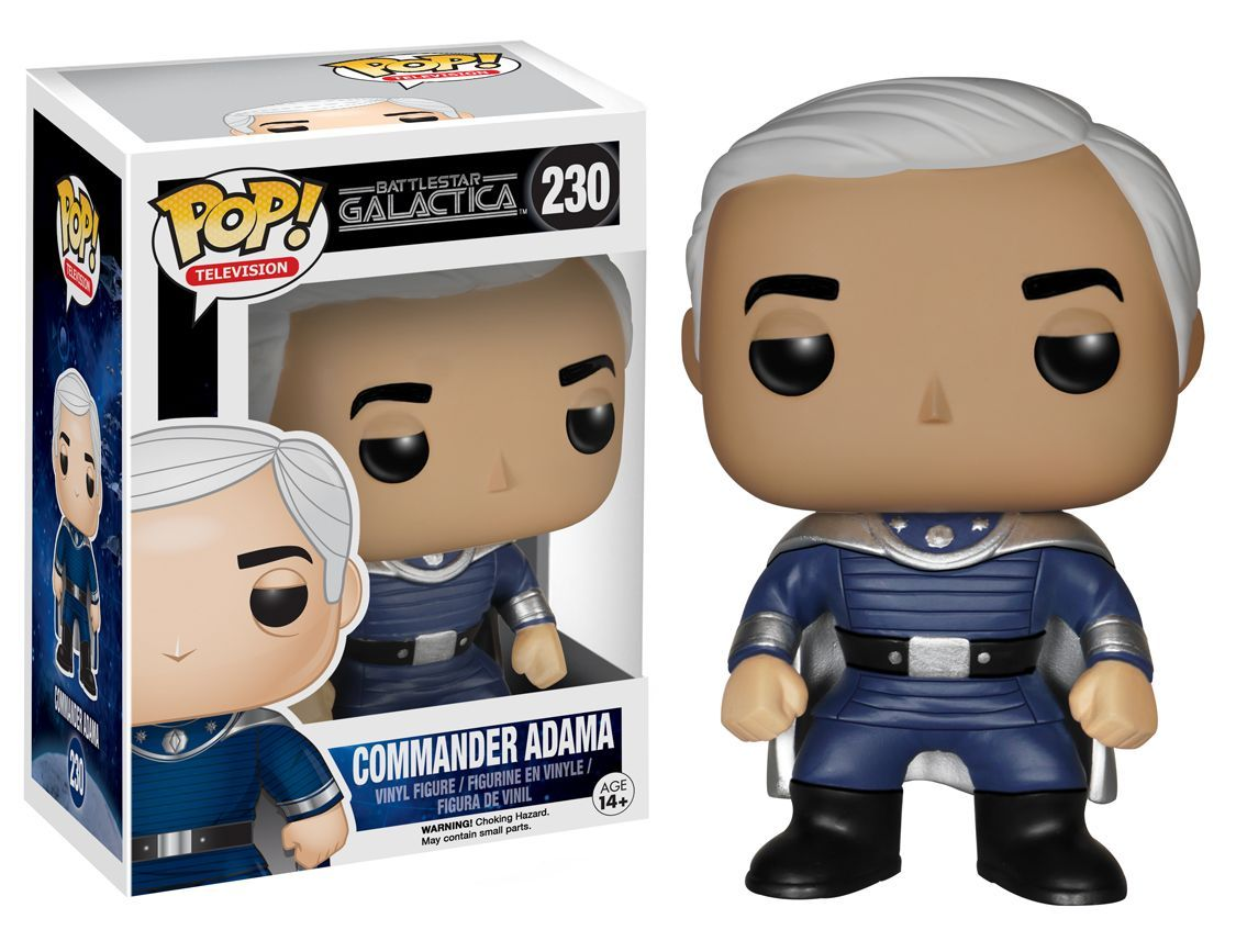 Photo du produit BATTLESTAR GALACTICA CLASSIC TV POP ADAMA 9CM