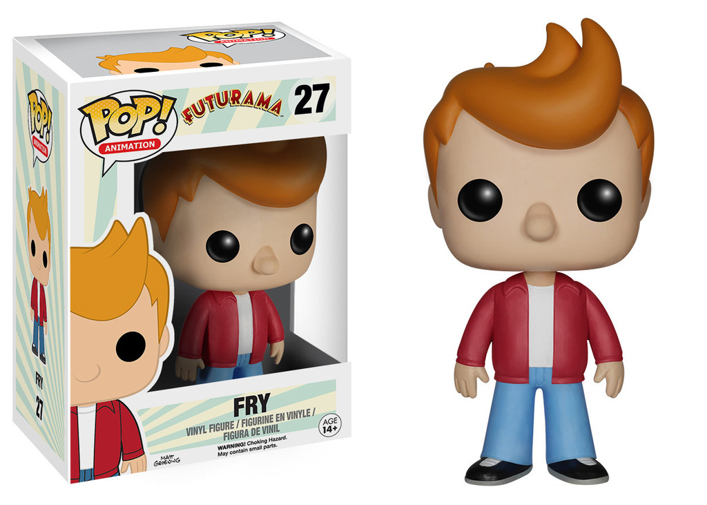 Photo du produit FUTURAMA POP FRY 9CM