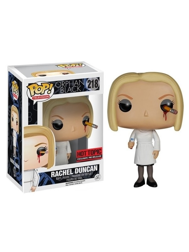 Photo du produit FUNKO POP ORPHAN BLACK RACHEL DUNCAN HOT TOPIC