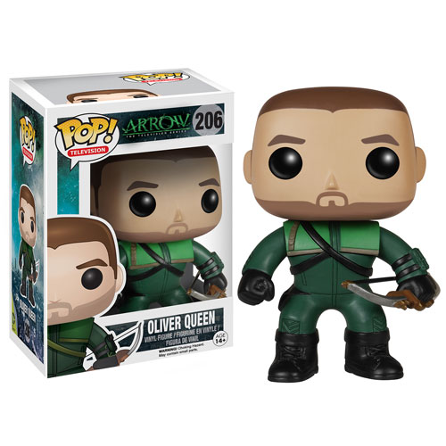 Photo du produit DC HEROES VINYL POP ARROW TV OLIVER QUEEN FIGURINE