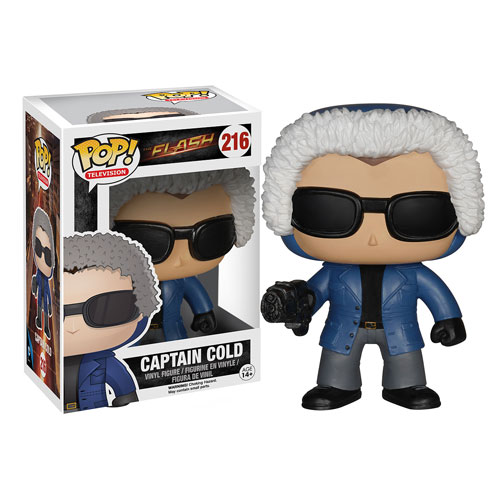 Photo du produit DC HEROES VINYL POP FLASH TV CAPTAIN COLD