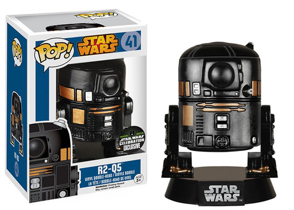 Photo du produit STAR WARS POP R2-Q5 EXCLU FIGURINE FUNKO