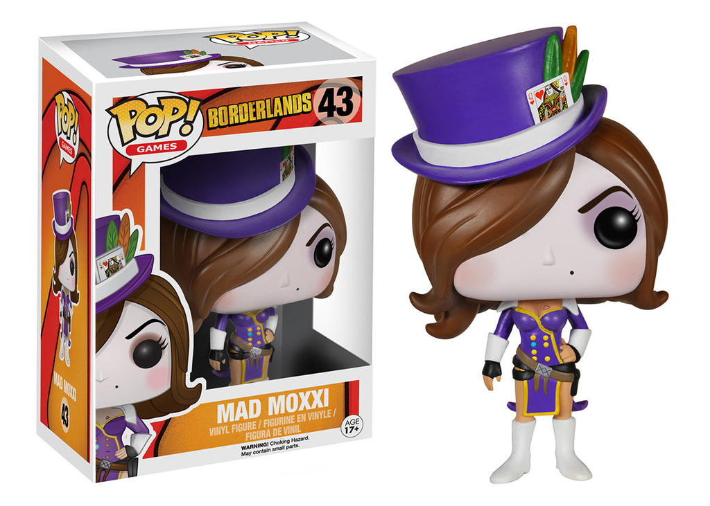 Photo du produit BORDERLANDS POP MAD MOXXI 9CM
