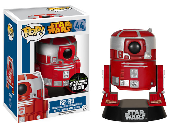 Photo du produit FUNKO POP R2-R9 STAR WARS CELEBRATION EXCLU