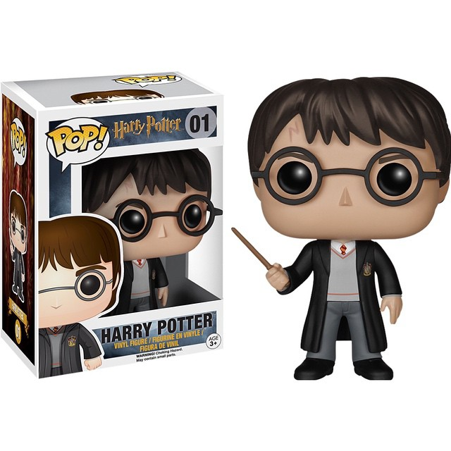 Photo du produit HARRY POTTER POP HARRY POTTER 9CM