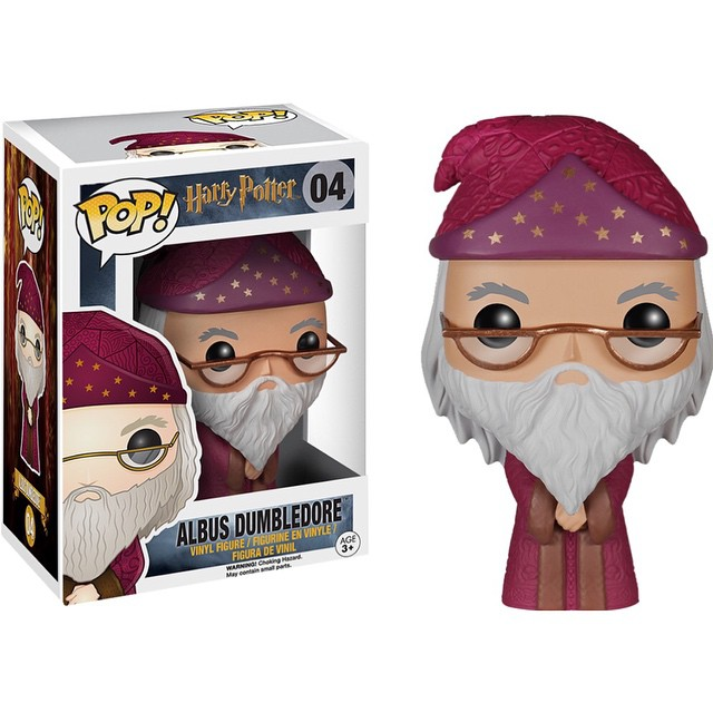 Photo du produit HARRY POTTER POP ALBUS DUMBLEDORE 9CM