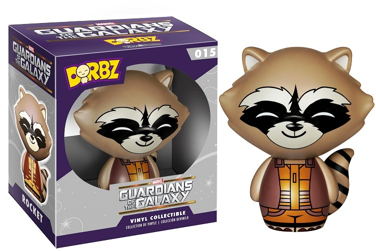 Photo du produit MARVEL DORBZ GUARDIANS OF THE GALAXY SERIE 1 ROCKET RACCOON