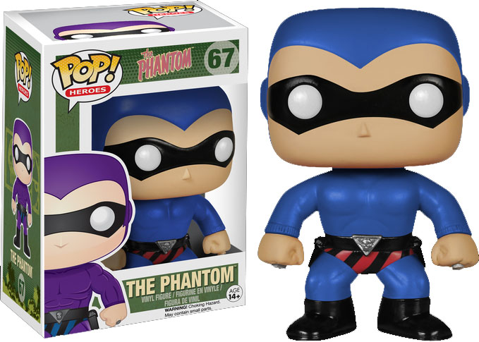 Photo du produit FUNKO POP HEROES PHANTOM FIGURINE COSTUME BLEU