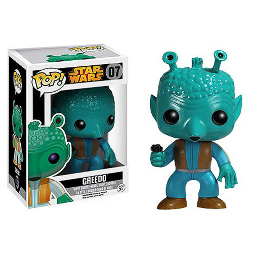 Photo du produit STAR WARS POP BLACK BOX GREEDO FIGURINE FUNKO