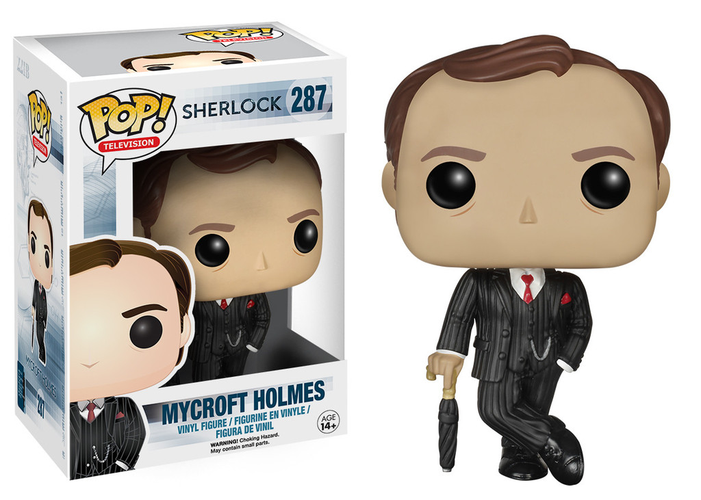 Photo du produit FUNKO POP SHERLOCK MYCROFT