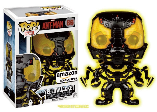 Photo du produit MARVEL POP ANT-MAN YELLOWJACKET GLOW IN THE DARK EXCLU
