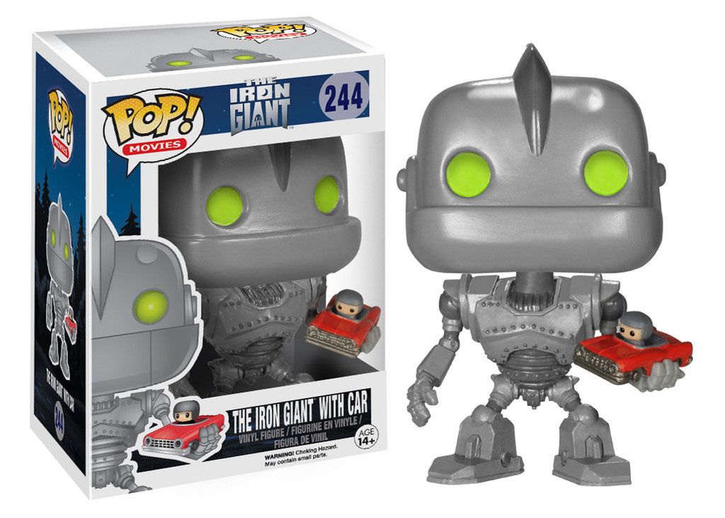 Photo du produit FUNKO POP LE GEANT DE FER WITH CAR