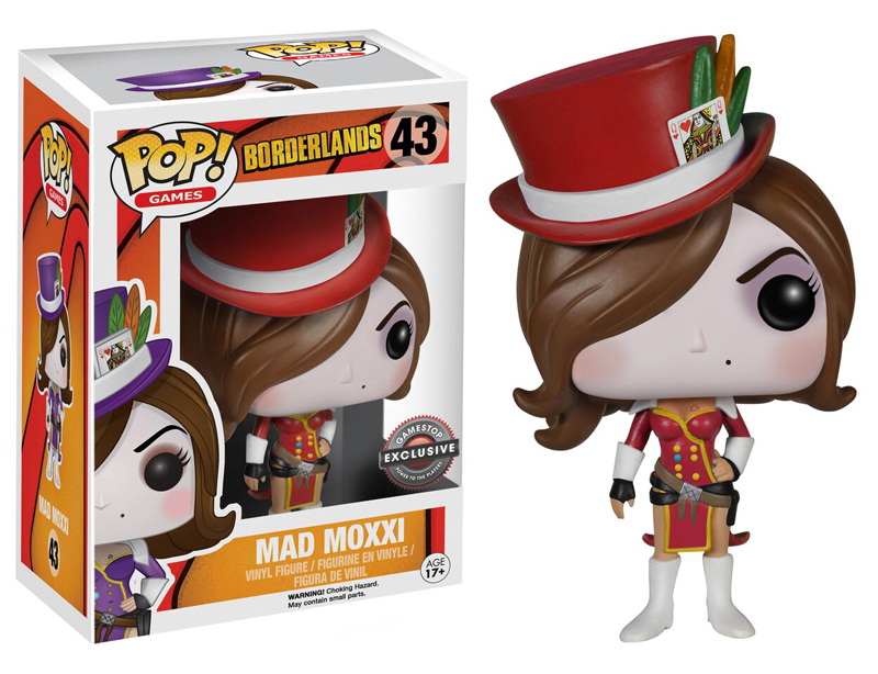 Photo du produit BORDERLANDS FUNKO POP MAD MOXXI EXCLU RED OUTFIT
