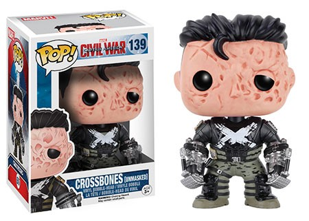 Photo du produit Captain America Civil War Funko Pop Crossbones Unmasked Edition Limitée