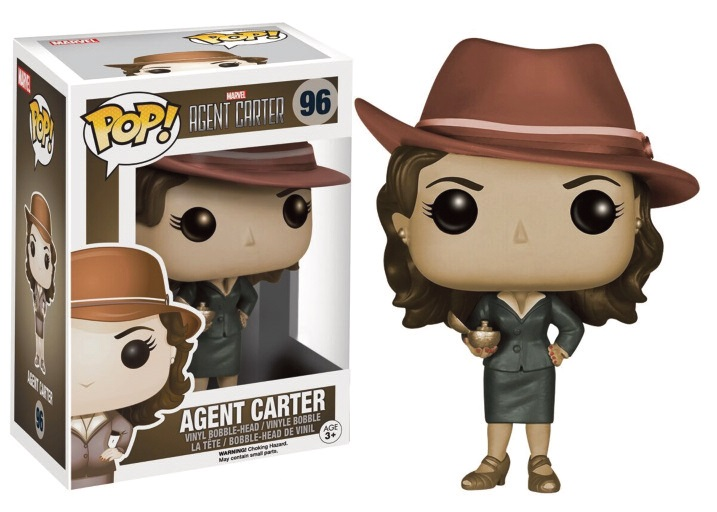 Photo du produit MARVEL FUNKO POP AGENT CARTER EXCLU LIMITED
