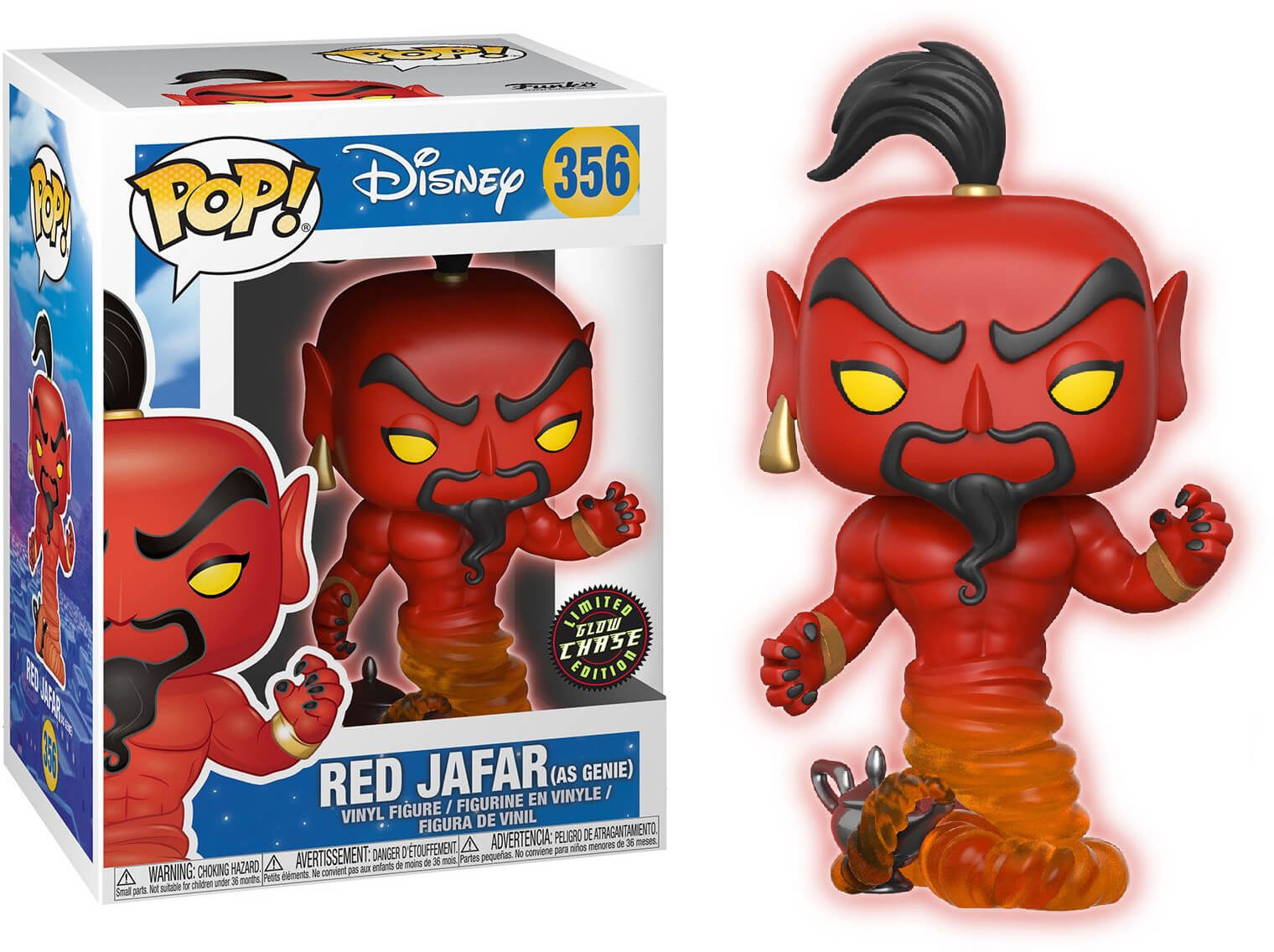 Photo du produit FUNKO POP RED JAFAR CHASE EXCLUSIVE
