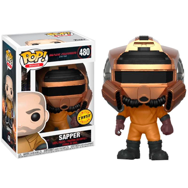 Photo du produit BLADE RUNNER 2049 FUNKO POP SAPPER CHASE EXCLUSIVE