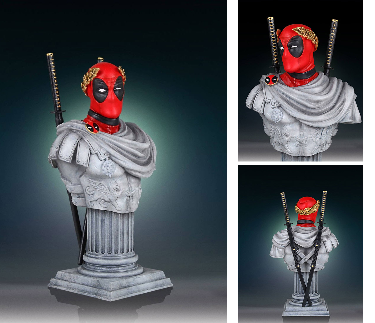 Photo du produit MARVEL BUSTE 1/6 DEADPOOL CAESAR CLASSIC 18 CM
