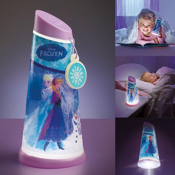 veilleuse go glow luciole la reine des neiges. Black Bedroom Furniture Sets. Home Design Ideas