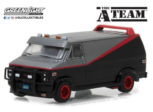 Photo du produit A-TEAM 1983 GMC VANDURA 1/64 MÉTAL