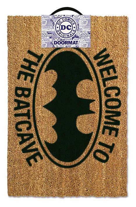 Photo du produit DC COMICS PAILLASSON WELCOME TO THE BATCAVE