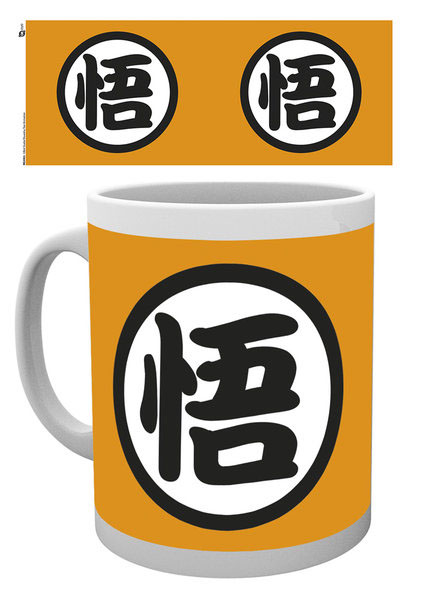 Photo du produit DRAGON BALL Z MUG GOKU KANJI
