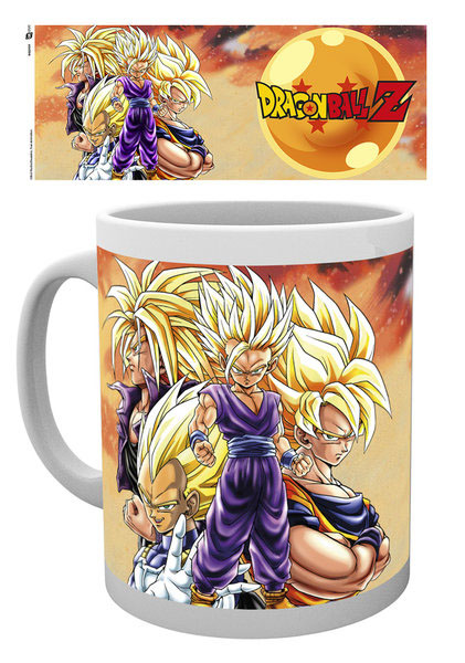 Photo du produit DRAGON BALL Z MUG SUPER SAIYANS