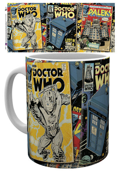 Photo du produit DOCTOR WHO MUG COMICS