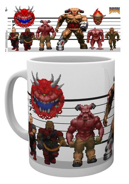 Photo du produit DOOM CLASSIC MUG ENEMIES