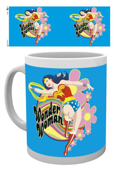 Photo du produit WONDER WOMAN MUG FLOWERS